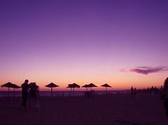 CieLo PúRPuRa (RoOoOo!!!) Tags: sunset sky sun sol beach photoshop playa victoria cielo nubes cadiz lil purpura atadecer
