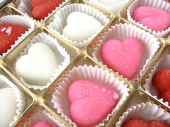 Peppermint Creme Hearts