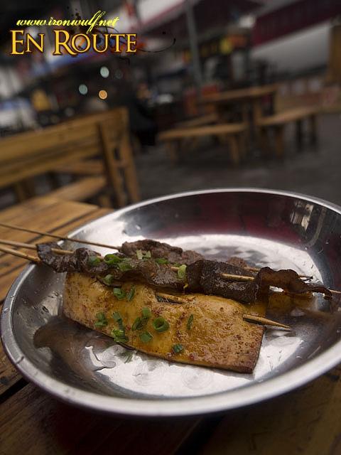 BBQ Tofu and Mushroom