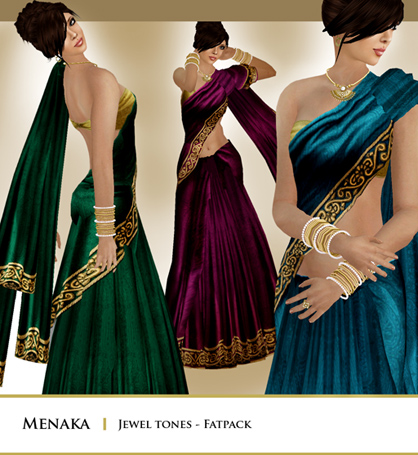 Zaara : Menaka Sari - Jewel tones