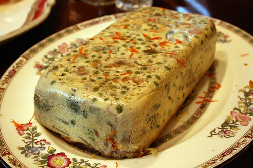 Spring vegetable terrine