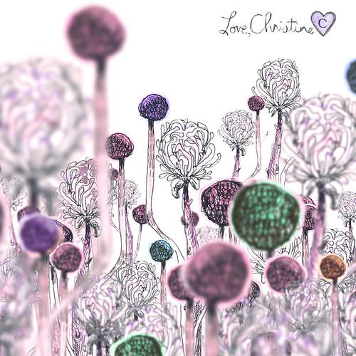 Le Jardin (plum)