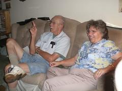 Dad and Carol...