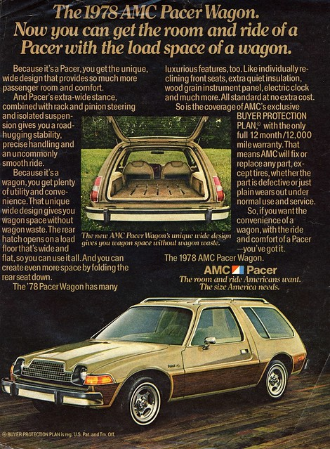 AMC pacer wagon 1978