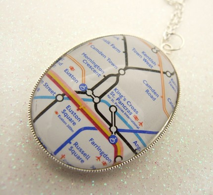 London Underground Necklace