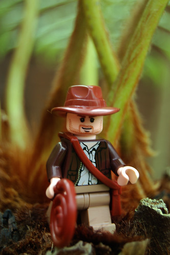 LEGO Indiana Jones in Jungle by Rob Young.