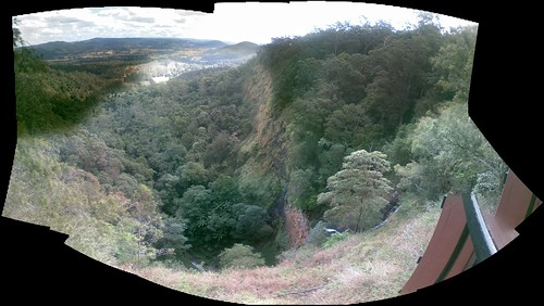 mapleton falls panorama by you.