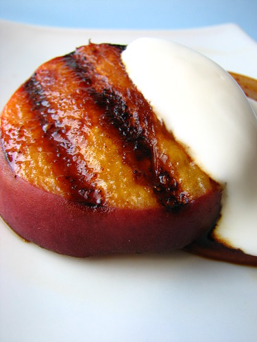 Grilled Peaches III