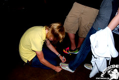 Shoe Signing (stacymagallon) Tags: newyorkcity releaseparty acousticset nevershoutnever christoferdrew christoferdrewingle theyippeeep