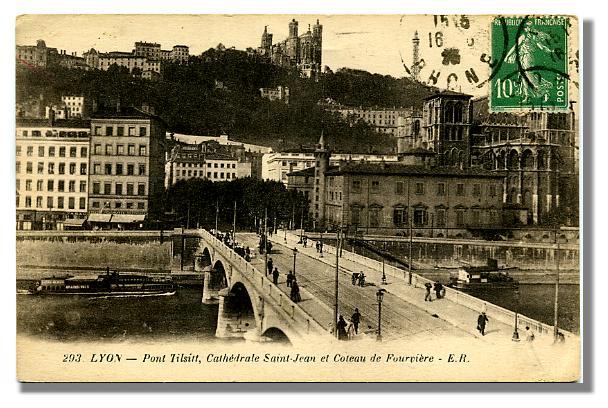 293-LYON - Pont Tilsitt