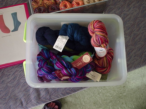 Yarn Selection from Unwind