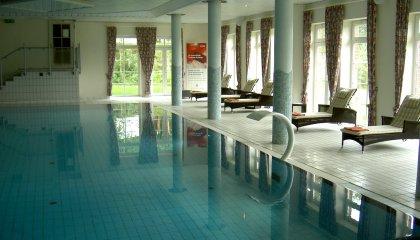 Meereswasserschwimmhalle Hotel Bornmühle