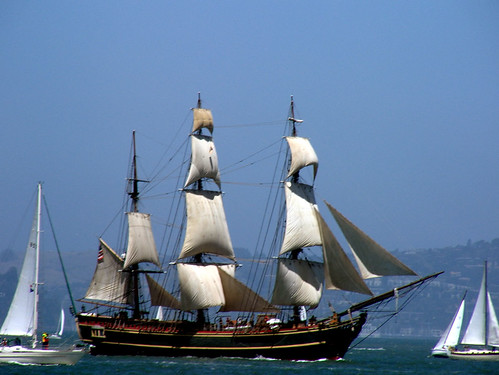 H.M.S. Bounty will be in Greenport Long Island.