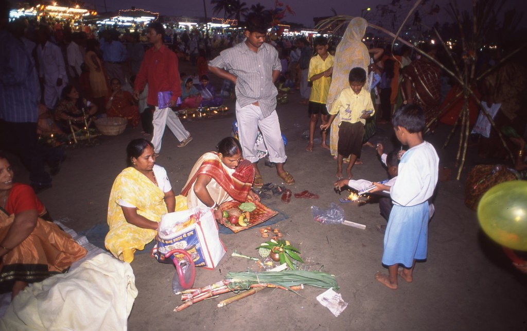 Chhath Puja 2003  /The Sinhas