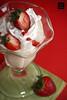 Strawberry ice cream ;D (QiYaDiYa) Tags: canon strawberry 100mm fatma almeer 400d qiyadiya