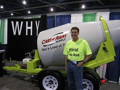 Cement Mixer Guys at Blog World Expo