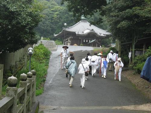 Shikoku pilgrimage(64 Maegamiji Temple ,前神寺)