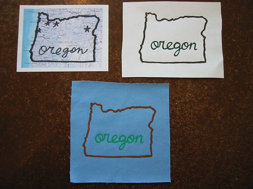 Oregon Gocco Prints