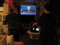 The #Current debate viewing party