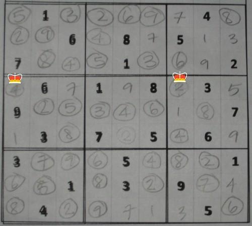 sudoku 1 guess