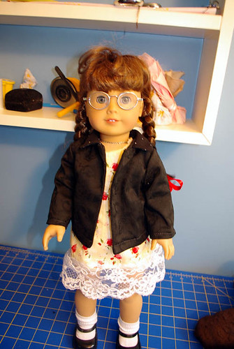 black doll jacket