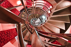 The Heart Shaped Stairs (Semi-detached) Tags: anna geometric architecture stairs spiral scotland edinburgh stair heart shaped geometry centre phoebe staircase lothians top20arch circular mansfield traquair aplusphoto