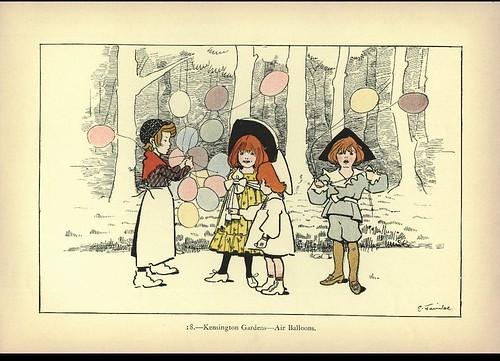 Kensington Gardens - Air Balloons