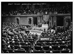 Pres. Wilson addressing Congress (LOC)