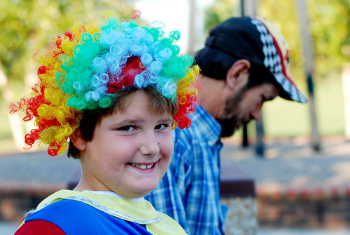 The clown at the park 1