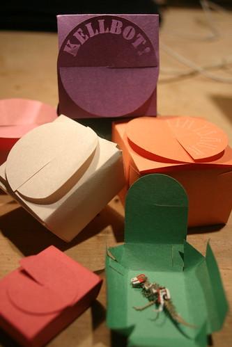 Laser-cut boxes