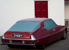 Citroën SM (azu250) Tags: citroen sm sport maserati oprion automatique coupe red white 47yb08