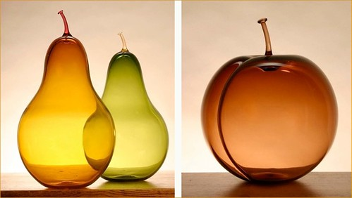 glass blown fruit