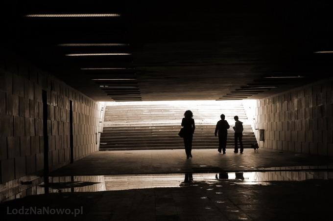 Przejście podziemne przy Dworcu Fabrycznym