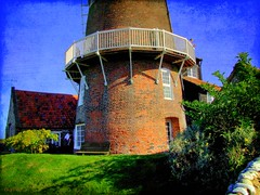 All along the watchtower..... (Guy Wulf) Tags: uk windmill coast eastanglia cleynextthesea northnorfolk thewash damniwishidtakenthat