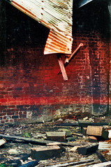 The Zone (JPaul23) Tags: film decay scan 80s stalker zone rubble olympusom10 roadsidepicnic arkadyandborisstrugatsky witchsjelly
