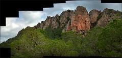 Panorama Pico de la Panocha, La Cresta del Gallo (Murcia) (Carlos J. Teruel) Tags: panorama espaa d50 nikon paisaje murcia 105mm autopanopro nikkor105mmf28gvrmicro xaviersam
