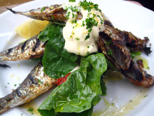 Sardines from Petersham Nurseries