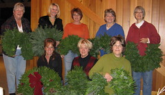 Itasca County PWC wreath group. Flickr photo by JMiedtke