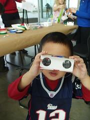 Owen's new binoculars