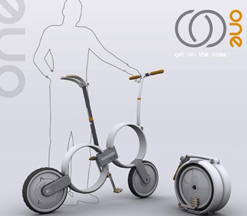 折叠自行车 - 创意设计