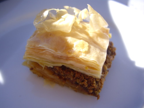 Baklava from Cafe Shish Kebab