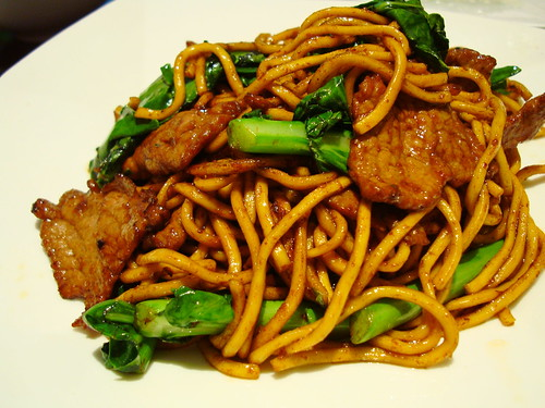 Bellagio, Beijing - barbecue beef stir-fried noodles