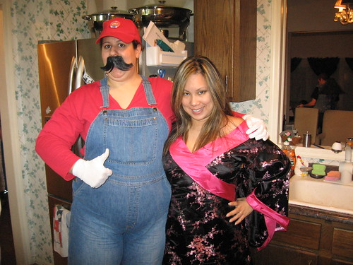 It's-a me Mario! I'm with-a the Ellen!