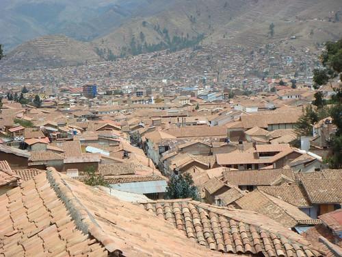 Adobe in Cusco.
