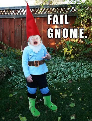 Fail Gnome