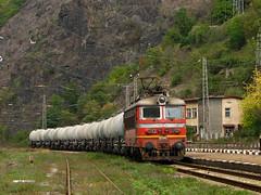 Cement Freight (Krali Mirko) Tags: electric train cement railway 45 bulgaria locomotive freight 175 skoda bov bdz 45175