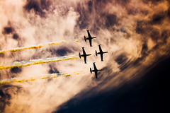(Shemer) Tags: sky postprocessed airplane four israel telaviv airplanes independenceday shemer top20israel  shimritabraham