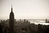 Old Empire (DuskZero) Tags: city nyc newyork building high cityscape view manhattan empirestate statueofliberty rockerfeller