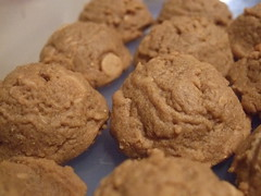 PB and Flax Cookies 028