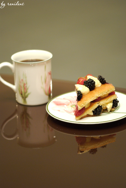 fruit cake & cup